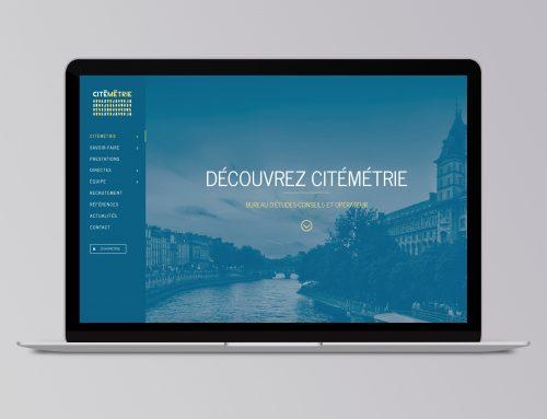 Refonte du site web de Citémétrie