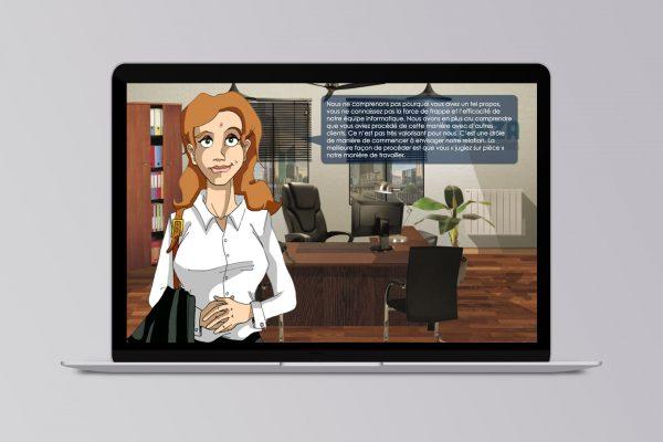 conception bureaux et character design