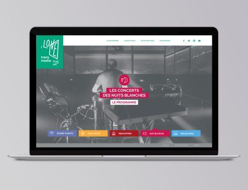 Site web du festival I Love Transmedia 2016
