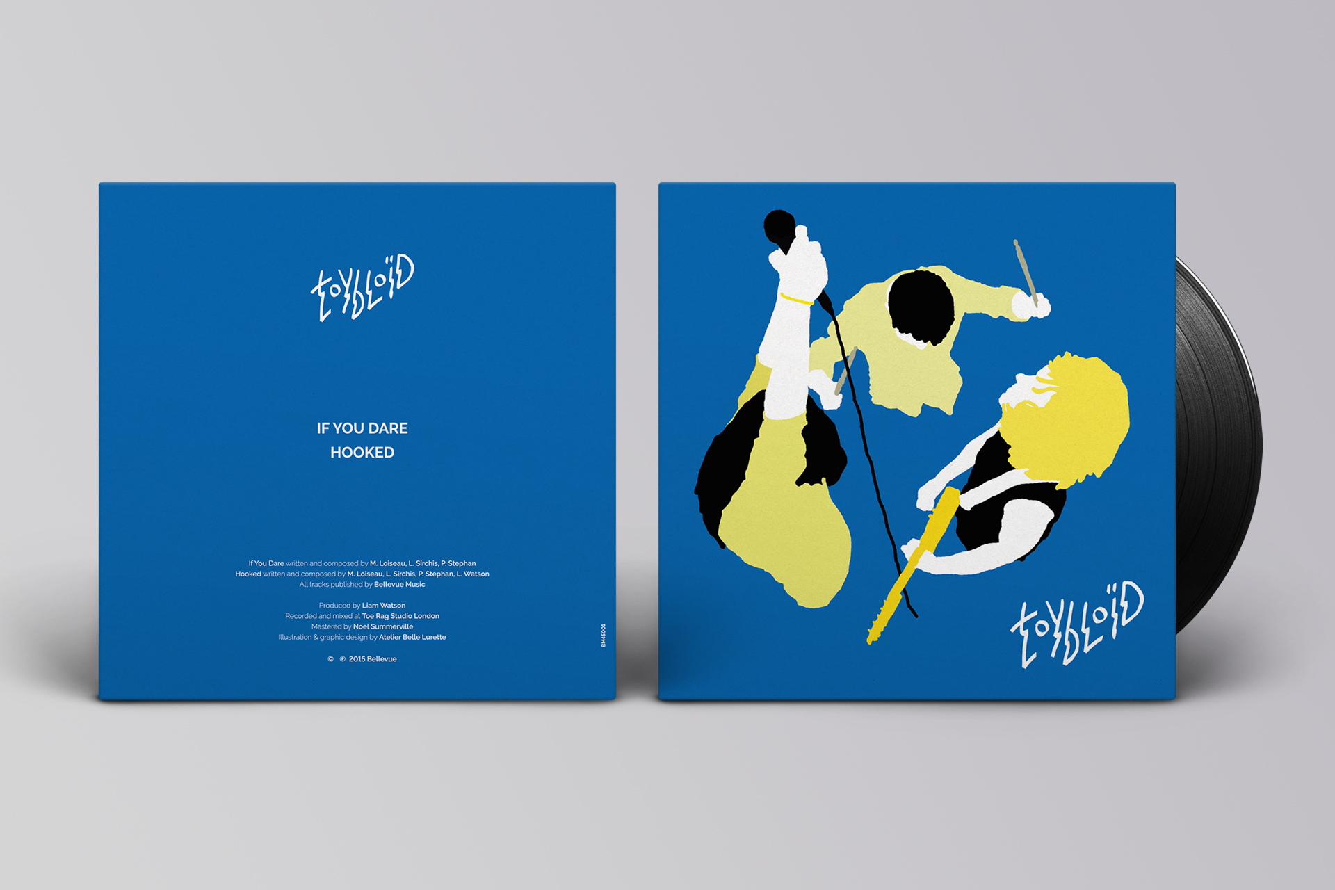 Design Single pour Toybloïd