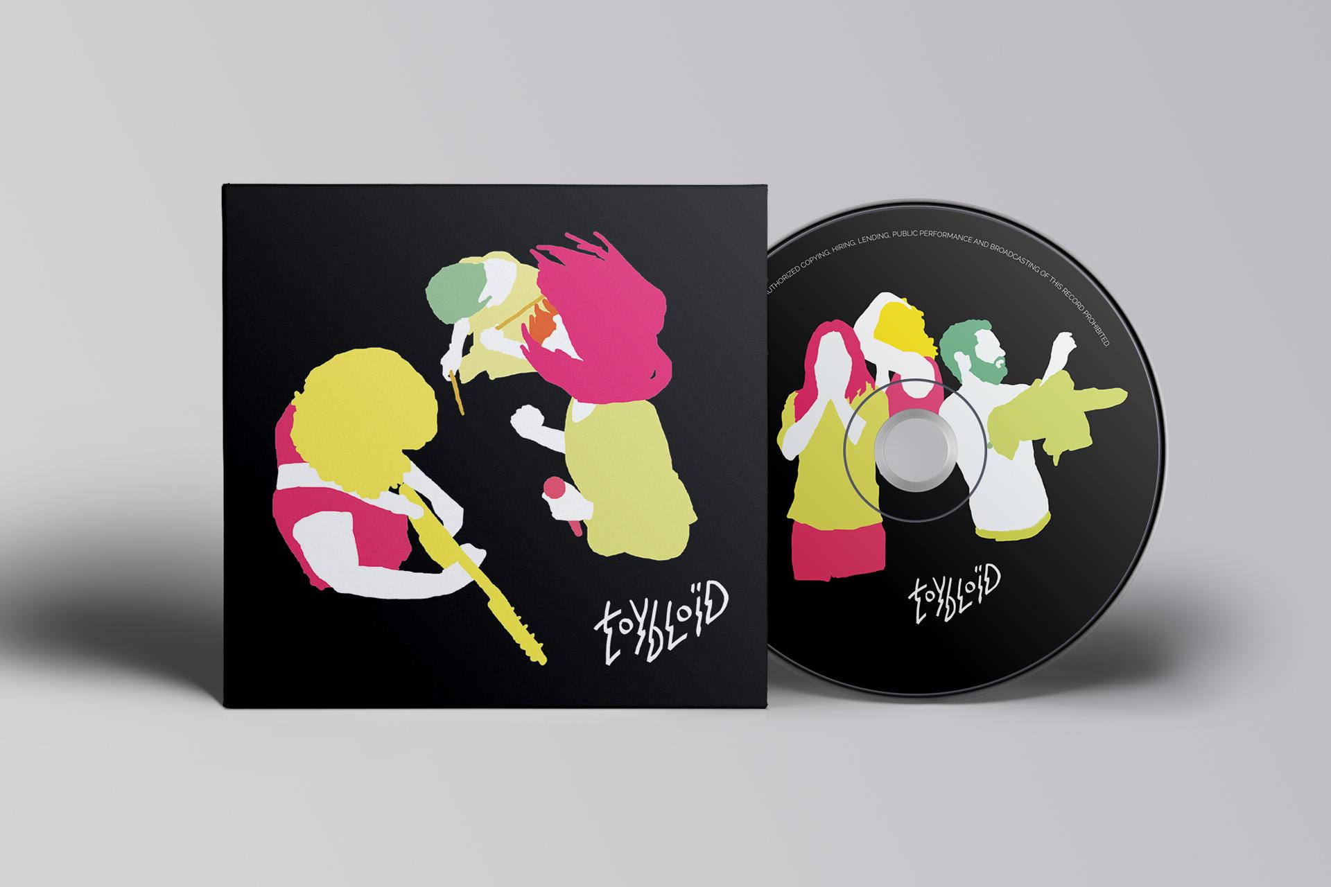 Design cd pour Toybloïd