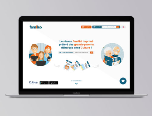 Landing Page Famileo